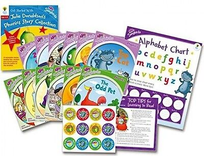 Oxford Reading Tree Songbirds: Levels 1+ And 2 - Get Started With Julia Phonics