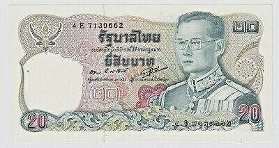 Thailand BE2528 (1985) 20 Baht Gem Unc.