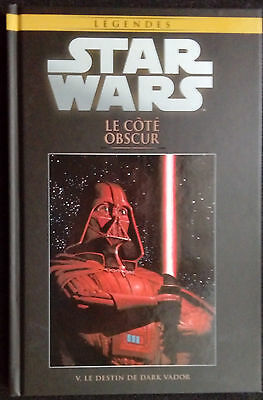 Star Wars Le Cote Obscur Dark Vador  Hachette Collection Tbe