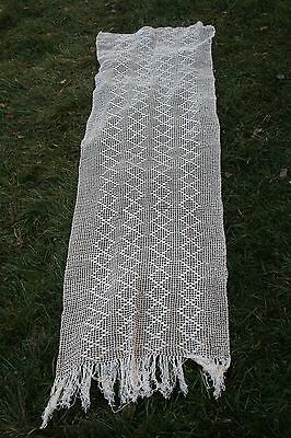 Vintage  hand-woven bedspreads, table or curtain    No 4