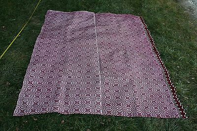 Hand-woven fabric- tablecloth 14