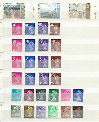Great Britain / Grande Bretagne 31 Stamps 1970-1971 Cv 35€ Mnh/**
