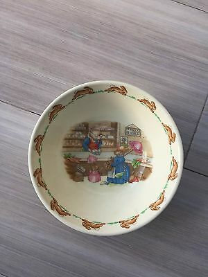Royal Doulton Bunnykins Cereal Bowl Mr Piggly's Stores