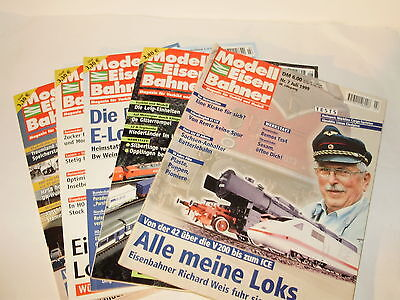 Modell Eisenbahner Magazine. Various issues. German Text. Excellent Condition