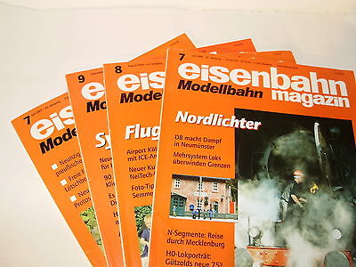 Eisenbahn Modelling magazine. '04 & '07.4 issues included.German Text. Exc Cond.