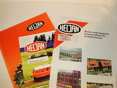 Heljan magazines x 3. Various years. German Text. Excellent Condition