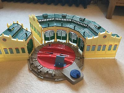 Trackmaster Thomas the tank engine tidmouth sheds turntable