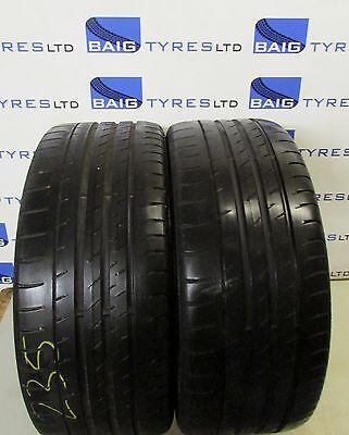 x2 235/40R18 235 40 18 95W XL CONTINENTAL SPORT CONTACT 3 (PAIR) *4.3MM!!* (195)