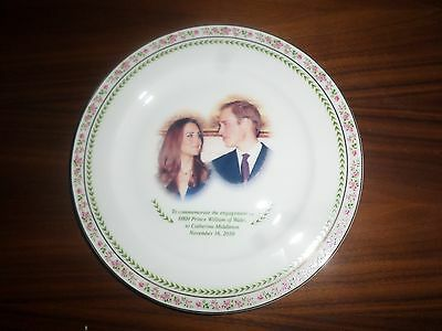HRH Prince William and Catherine Engagement Plate & Wedding Tea Towel