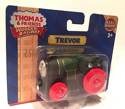TREVOR Thomas Tank Engine Wooden Railway NEW IN BOX 2017