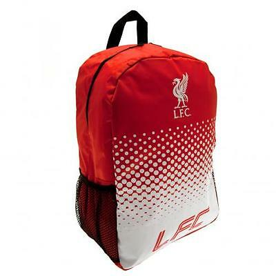 Official Licensed Football Product Liverpool Fade Backpack Rucksack Bag Gift New