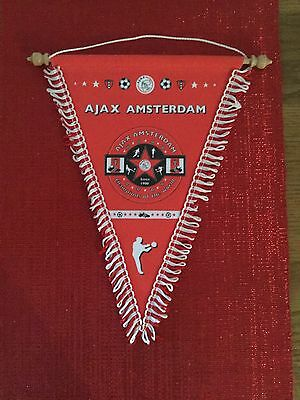 Official Ajax Champions Of The World Pennant