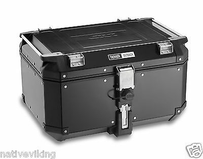 GIVI TREKKER OUTBACK 58L TOP BOX CASE OBK58B fit any GIVI MONOKEY plate IN STOCK
