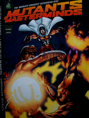 MUTANTS & MASTERMINDS. Core Rulebook. Green Ronin 2002. Superhero RPG OOP
