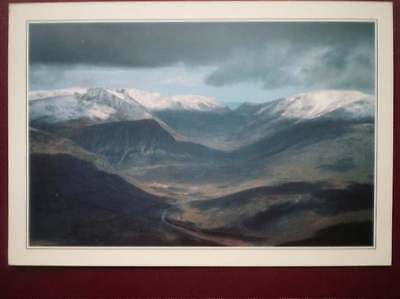 Postcard Kincardineshire The Lairig Ghru & The Cairngorms From The South