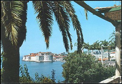 View Of Dubrovnik Posted 1987 Stamp Intact
