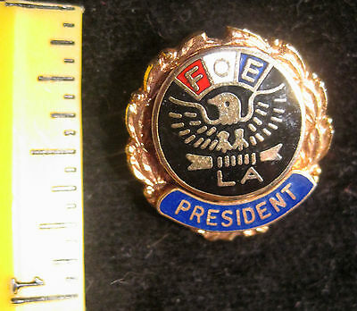 FOE, Fraternal Order of the Eagles LA, Ladies Aux President Brooch, Pin