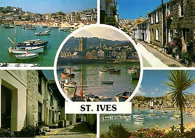 St Ives - Cornwall - Multiview - Postcard 2007