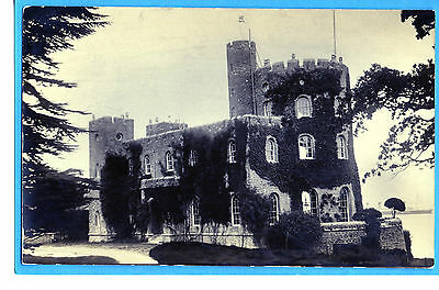 Norris Castle - E Cowes Isle Of Wight Rp By Un-Named Publr- Liner Sailing By