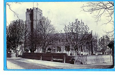 Littleport Church - Real Photo P/c  Un-Named Publisher  Posted 1907