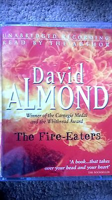David Almond The Fire-Eaters Audio Book Tapes Cassettes X 2 Story
