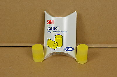 10 Pair New 3M E.A.R. Classic Yellow Ear Plugs