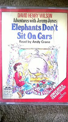 Elephants Don't Sit On Chairs Audio Book Tapes Cassettes X 2 Story