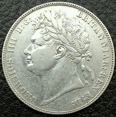 1823 George  Iiii Halfcrown