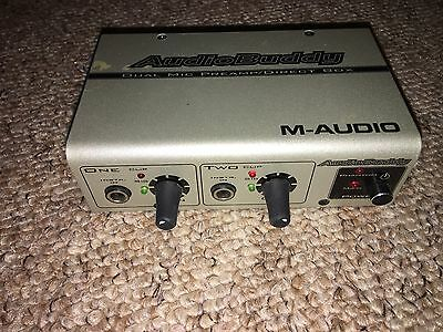 M-Audio Audio Buddy Preamp-Great For Adding Extra gain For Your Mic/guitar