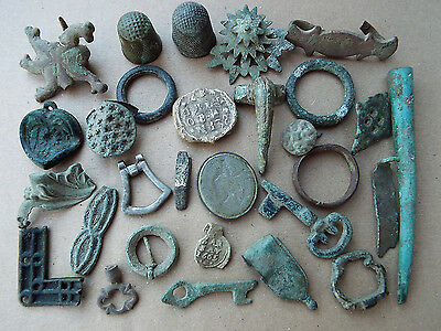 "ELK"" GOOD COLLECTION of ROMAN/SAXON/MEDIEVAL and Later ARTEFACTS from Norfolk"