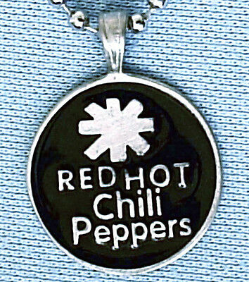 Red Hot Chilis Pendant Mens Boys Womens Necklace Chain  Bpc027