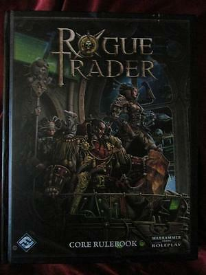 VERY RARE - ROGUE TRADER CORE RULEBOOK. Warhammer Roleplaying Game RPG OOP HB