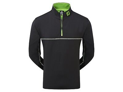 Footjoy Tour Logo Chillout Pullover Extreme #92612 in Black (BNWT) Large