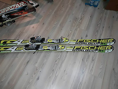 Fischer rc4 world cup sc skis with bindings