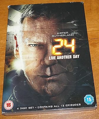 24 Live Another Day DVD UK Region 2 [4 Disc Set]