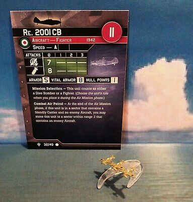 Axis & Allies War at Sea: Re. 2001 CB #32/40 (Flank Speed)