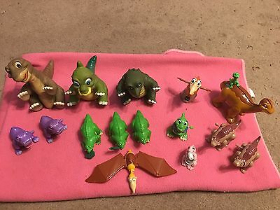 Lot Of Land Before Time Dinosaur Toys