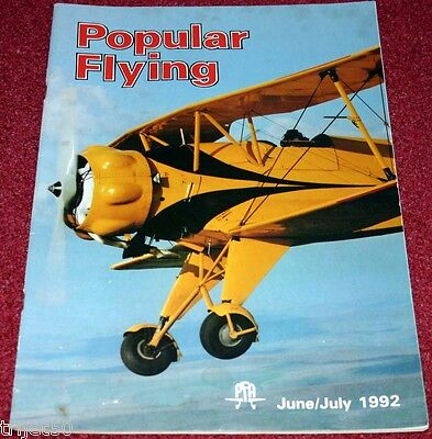 Popular Flying 1992 June-July