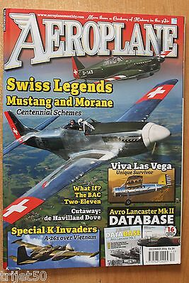 Aeroplane Monthly 2014 December Dove,Pitts,Lancaster,Airacobra,P-51,MS406,B-26