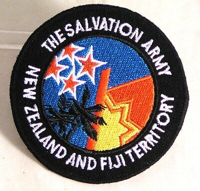 Salvation Army -  CLOTH PATCH - CONGRESS PATCH - NEW ZEALAND AND FIJI
