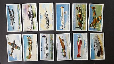 W D & H O Wills - SPEED 1938 - 36/50 Cigarette Cards - Part Set