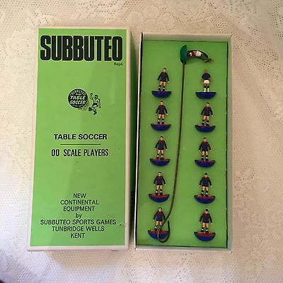Original Vintage Subutteo Subbuteo Players In Box