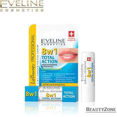 EVELINE COSMETICS 8 in 1 TOTAL ACTION LIPS CONCENTRATED SERUM