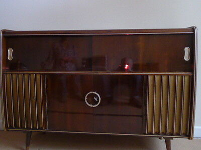 'retro' Vintage Radiogram - Civic - Good Condition (new Home Needed)