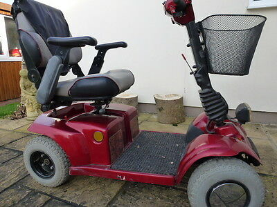 MOBILITY SCOOTER with NEW BATTERIES.
