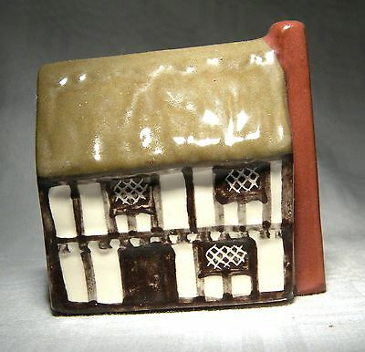 Mudlen End Miniature Pottery Houses Thatched Yeomans Cottage  2