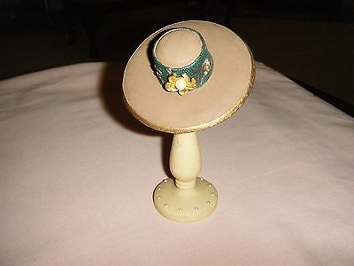 Ornamental Porcelain Hat and stand