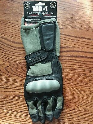 Wiley X TAG-1 flame resistant combat  Gloves Foliage Green Medium G216ME NEW