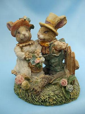 Collectable Pair of Rabbits Ornament