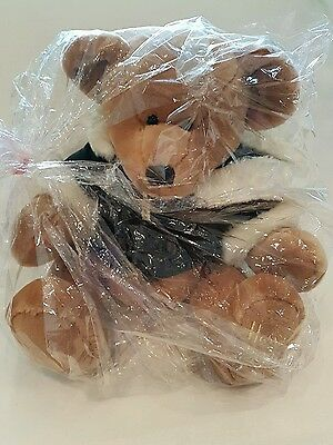 New*Harrods 2001 Foot Dated Christmas Teddy Bear collectors gift wrap